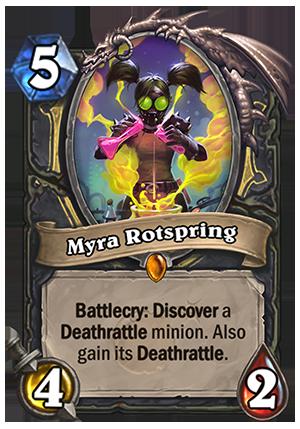 Myra Rotspring - Hearthstone Card - Hearthstone Top Decks