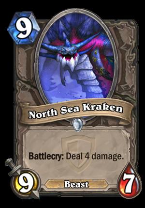 North Sea Kraken Card