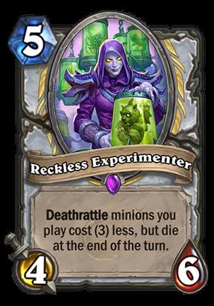 Reckless Experimenter Card
