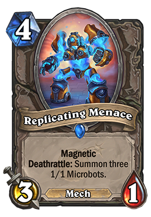 Replicating Menace Card