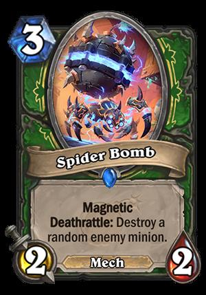 Spider Bomb Card