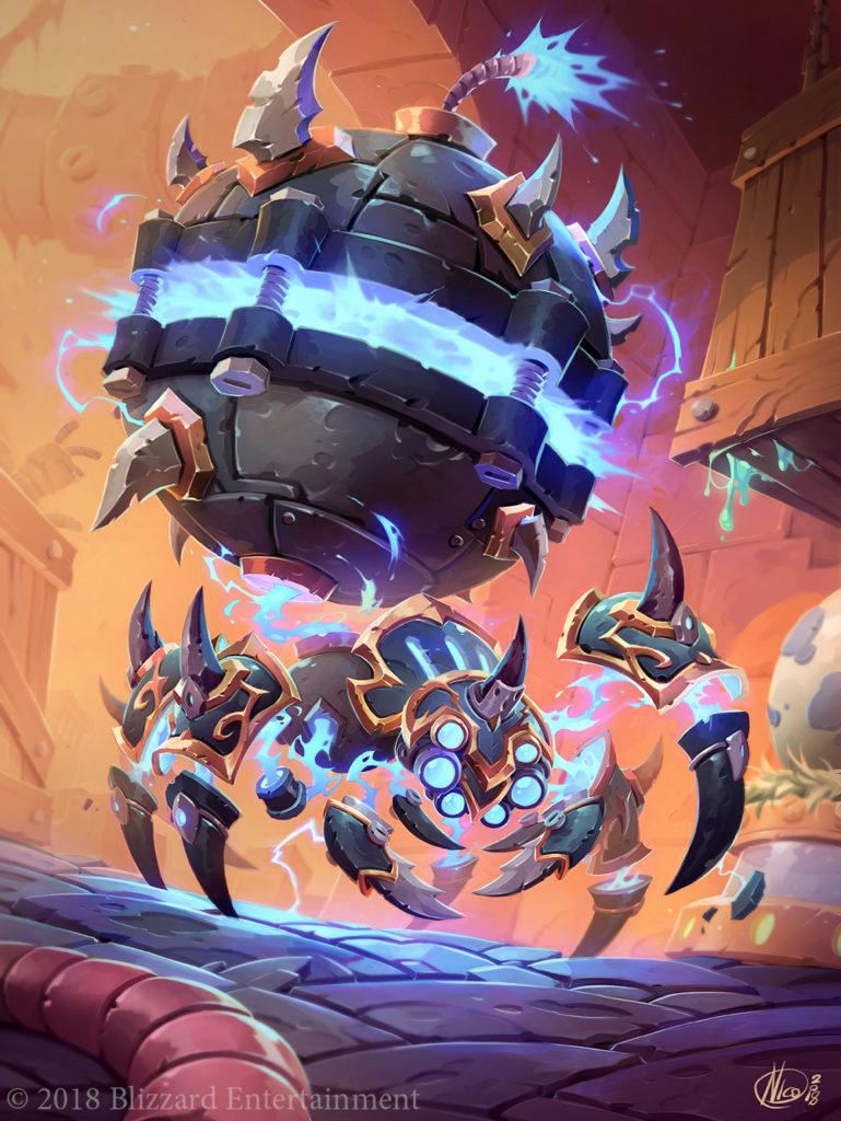 Spider Bomb Full Art