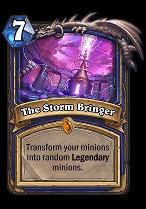 The Storm Bringer Card