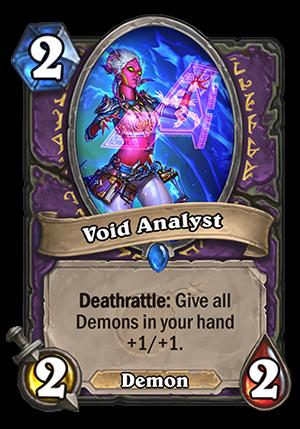 Void Analyst Card
