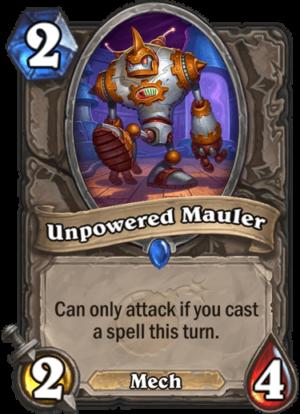 Unpowered Mauler Card