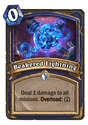 Beakered Lightning Card