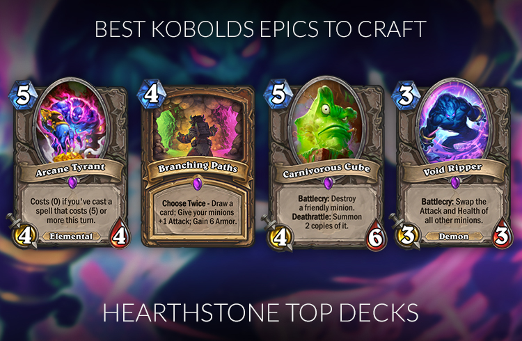 Hearthstone Best Epics To Craft