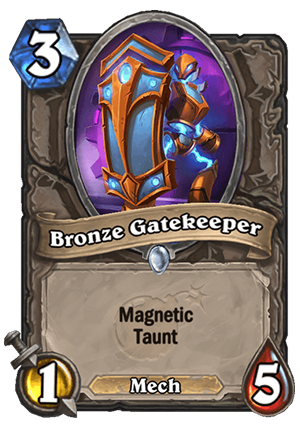 Bronze Gatekeeper Card