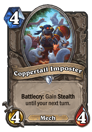Coppertail Imposter Card