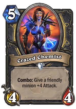 Crazed Chemist Card