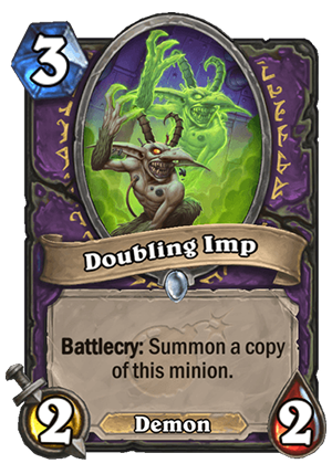 Doubling Imp Card