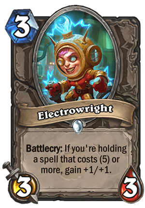 Electrowright Card