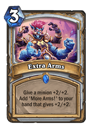 Extra Arms Card