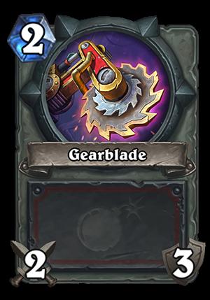 Gearblade Card