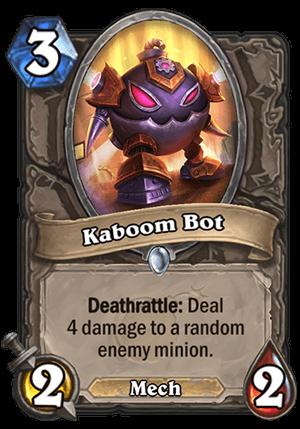 Kaboom Bot Card