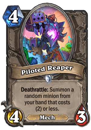 Piloted Reaper Card