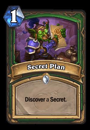 Secret Plan Card