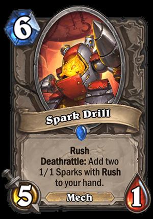 Spark Drill Card