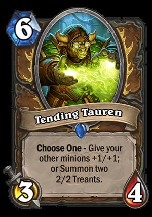 Tending Tauren Card