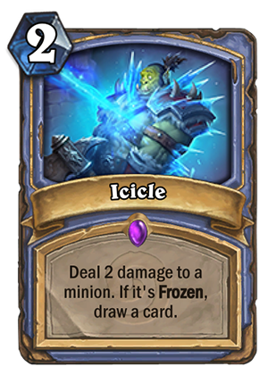 Icicle Card