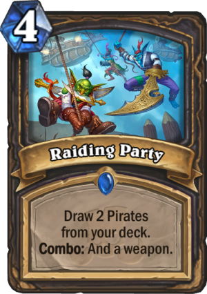 Raiding Party Card