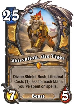 Shirvallah, the Tiger Card