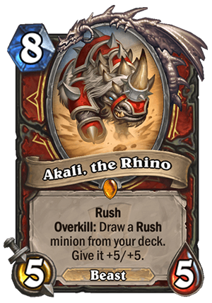Akali, the Rhino Card