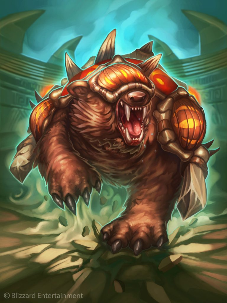 Amani War Bear Full Art