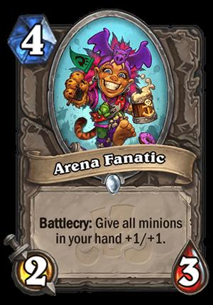 Arena Fanatic Card