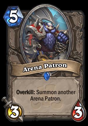 Arena Patron Card