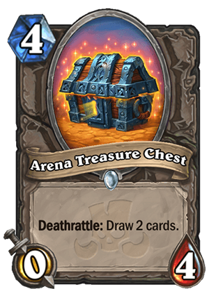 Arena Treasure Chest Card