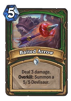 Baited Arrow Card