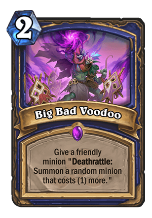 Big Bad Voodoo Card