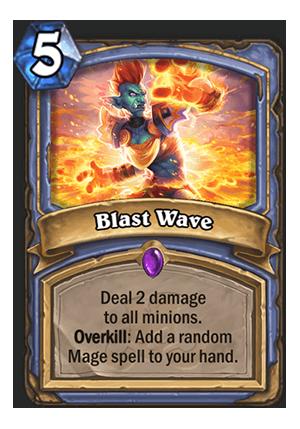 Blast Wave - Hearthstone Card - Hearthstone Top Decks