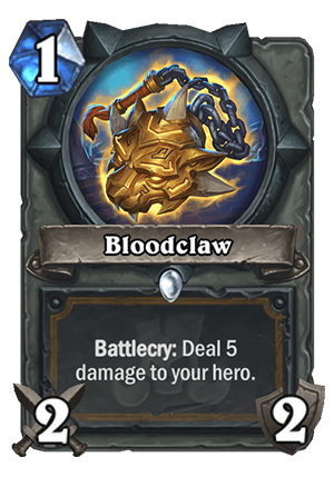 Bloodclaw Card