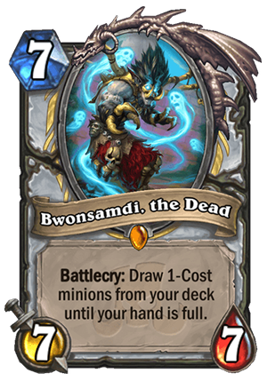 Bwonsamdi, the Dead Card