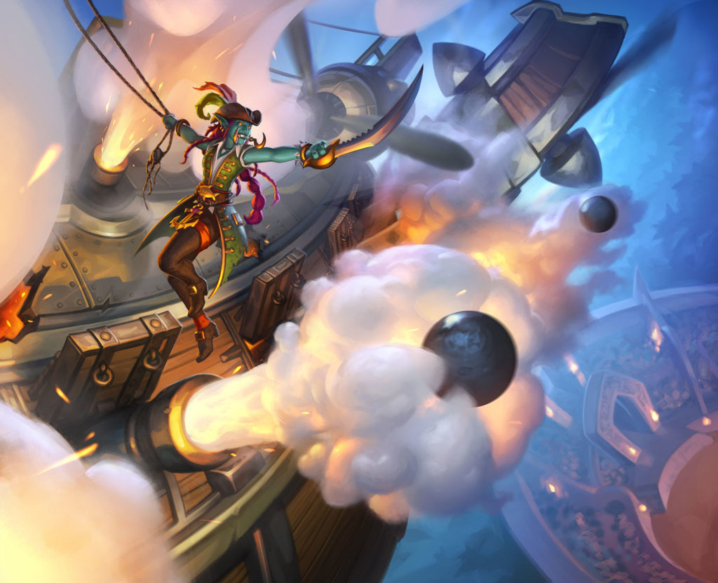 Cannon Barrage Full Art