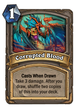Image result for corrupted blood hearthstone