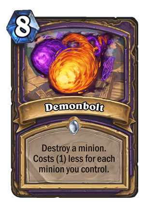 Demonbolt Card