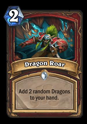 Dragon Roar Card