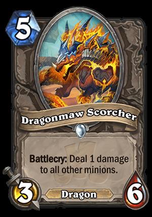 Dragonmaw Scorcher Card