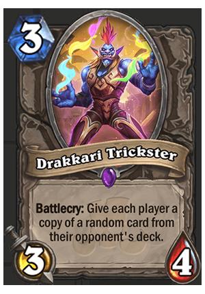 27c5aeef9532a1 Drakkari Trickster - Hearthstone Card - Hearthstone Top Decks