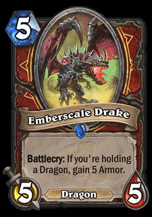 Emberscale Drake Card