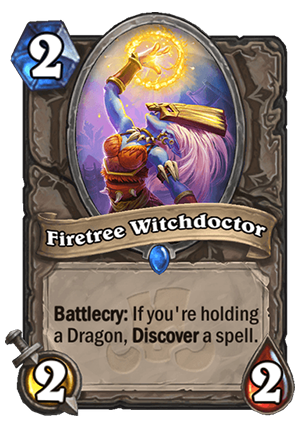 Firetree Witchdoctor Card