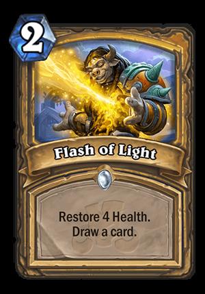 Flash of Light Card