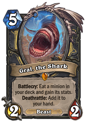 Gral, the Shark Card