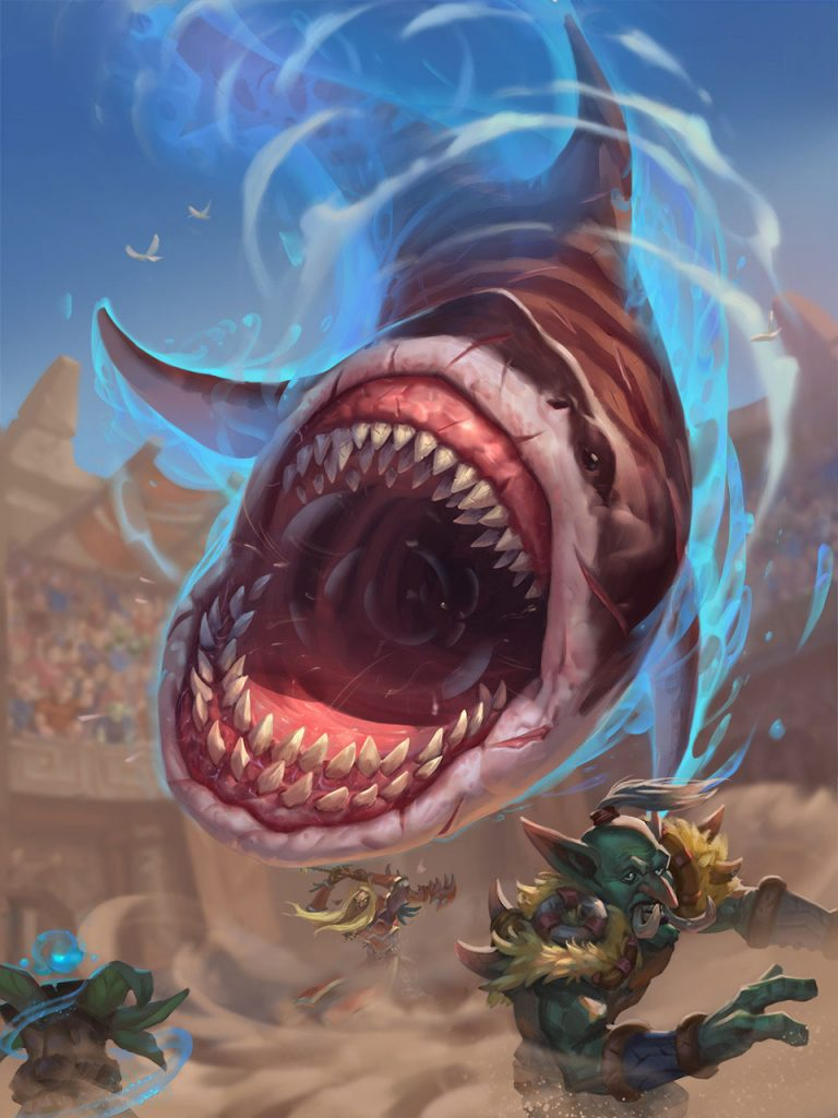Gral, the Shark Full Art