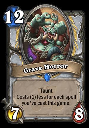 Grave Horror Card