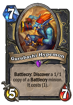 Gurubashi Hypemon Card
