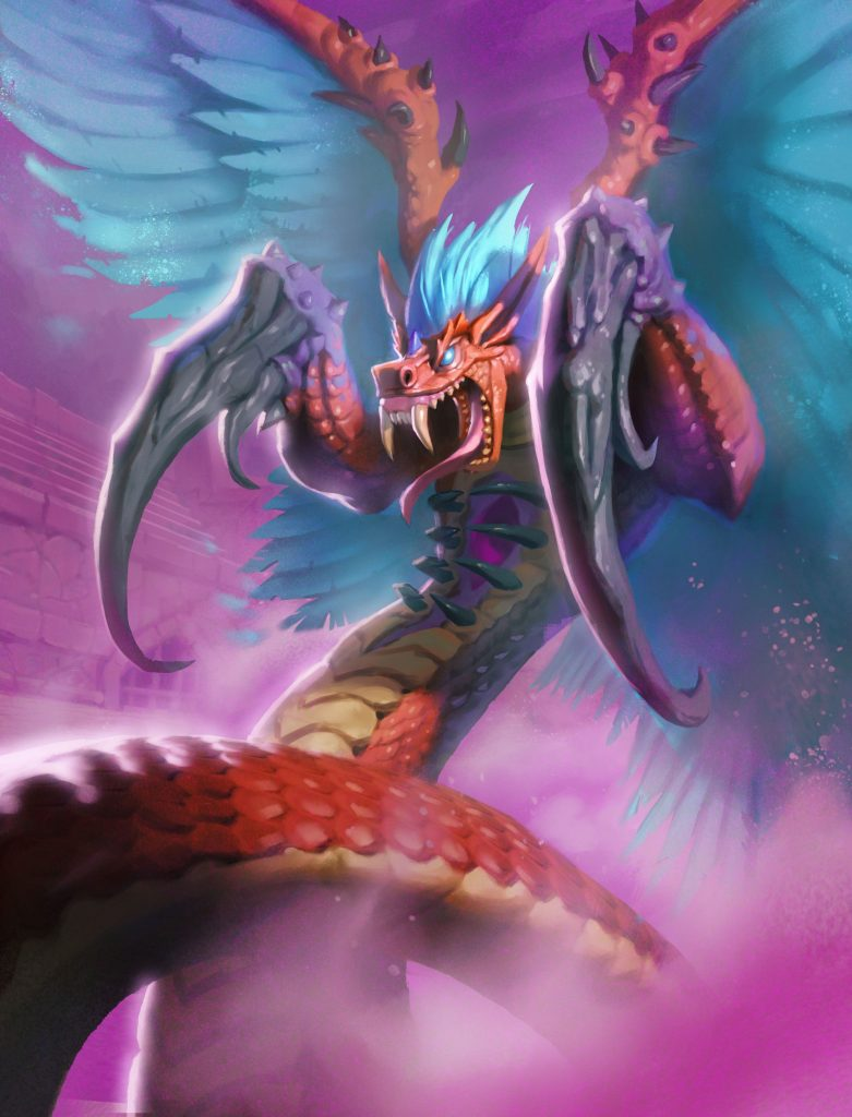 Hakkar, the Soulflayer Full Art
